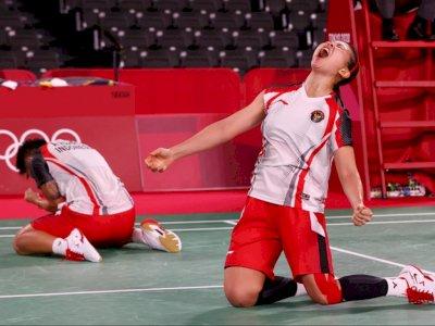 Greysia/Apriyani Langsung Fokus Tatap Semifinal Olimpiade Tokyo 2020