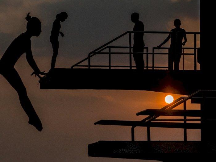 FOTO: Latihan Atlet Loncat Indah Jabar Jelang PON XX Papua