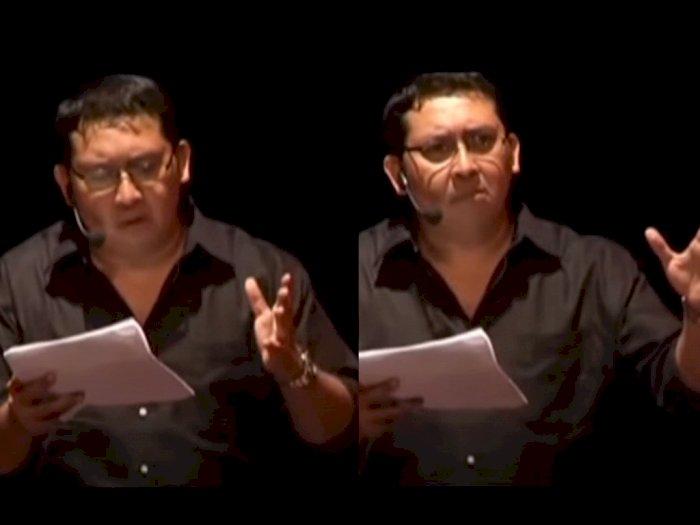 Netizen Soroti Fadli Zon Baca Puisi Rendra 'Doa Orang Lapar': yang Baca Kelebihan Gizi