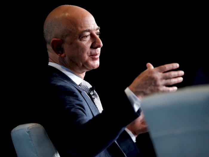 Meski Kehilangan Rp195,75 Triliun, Pemilik Amazon Tak Lengser Jadi Orang Terkaya di Dunia