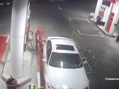 Viral Pengemudi BMW Kabur & Tak Bayar Bensin Rp600 Ribu, Petugas Nombok Padahal Lagi Susah