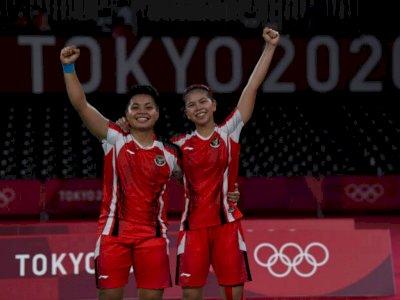 Greysia/Apriyani Masuk ke Final Olimpiade, Pimpinan Komisi X DPR: Kami yakin Dapat Emas!