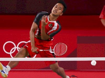 Komite Olimpiade Dunia Puji Penampilan Ginting Saat Tekuk Wakil Denmark: Incredible!
