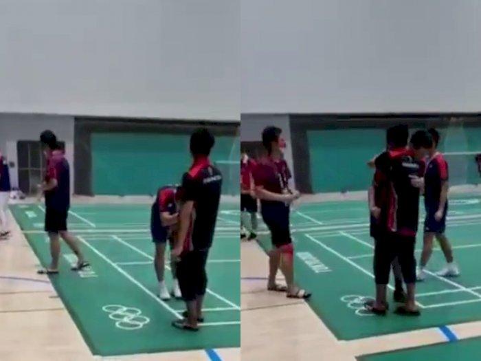 Kalahkan Ahsan/Hendra, Ganda Taiwan Lee/Wang Membungkuk & Cium Tangan