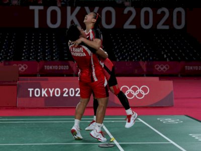 Greysia-Apriyani Cetak Sejarah ke Final Olimpiade, Mari Kita Semua Doakan!
