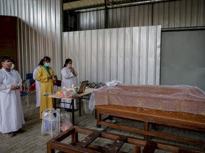 FOTO: Krematorium Gratis Bagi Jenazah COVID-19