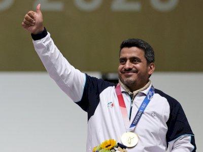 Termasuk Anggota Teroris Iran, Kemenangan Atlet Javad Foroughi di Olimpiade Tokyo Dikecam