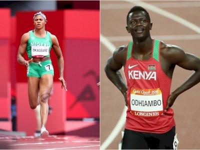 Sprinter Nigeria dan Kenya dicoret dari Olimpiade Tokyo karena Doping