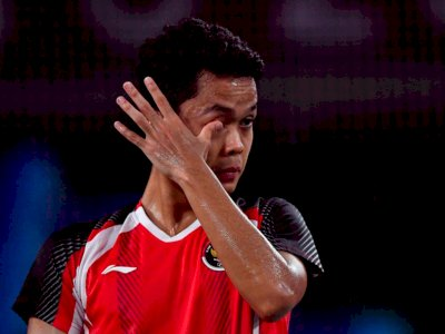 Meski Masih Kesal Usai Dikalahkan Chen Long, Anthony Ginting Siap Move On