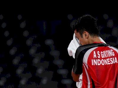 Hadapi Kuda Hitam Diperebutan Medali Perunggu Olimpiade, Anthony Ginting Waspada