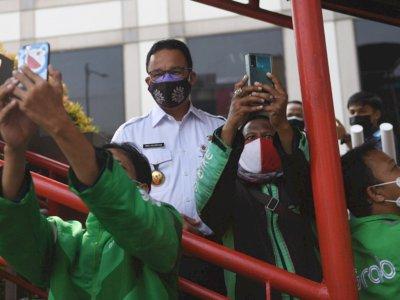 Anies Sebut PPKM Level 4 Efektif Turunkan Angka Kasus Covid-19 di Jakarta