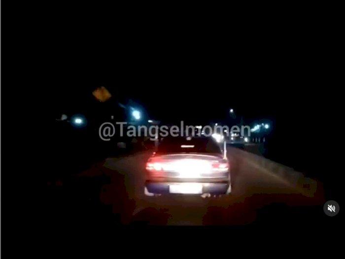 Viral Sedan Halangi Ambulans di Tangsel, Begini Kronologinya