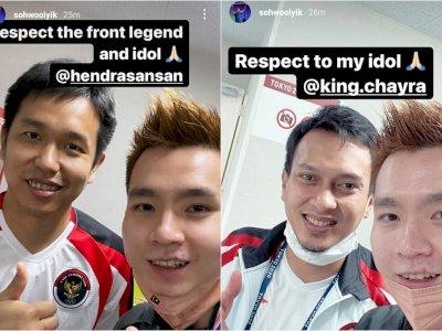 Pamer Foto Bareng Ahsan/Hendra, Ganda Putra Malaysia: Respect!