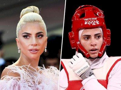 Viral Atlet Wanita Taekwondo di Olimpiade Tokyo 2020, Dikatakan Mirip Lady Gaga