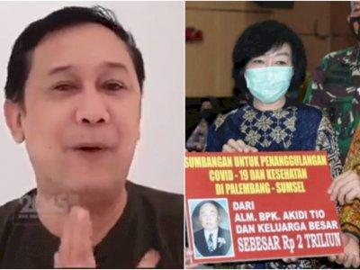 Denny Siregar Akui Kena Prank Donasi Rp2 T Akidi Tio, Siap Di-bully Seminggu ke Depan