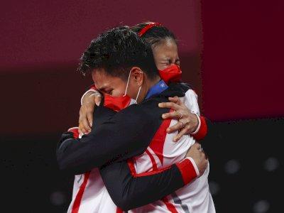 Raih Emas di Olimpiade Tokyo, Greysia/Apriyani: Kami Tak Menyangka Jadi Juara