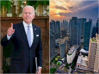 Joe Biden Sebut Jakarta akan Tenggelam, PSI Minta Anies Bangun Giant Sea Wall
