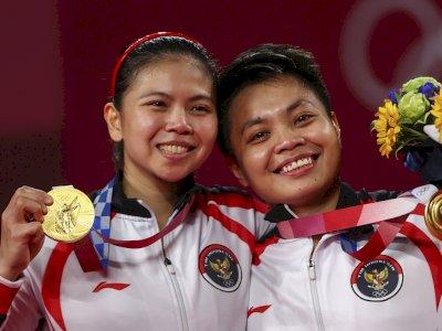 Begini Perasaan Greysia Polii Pasca Raih Medali Emas di Olimpiade Tokyo: Ga Bisa Bermegah!