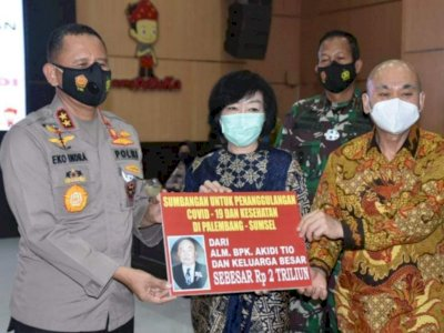 Selain di Sumsel, Anak Akidi Tio Juga Tersangkut Kasus di Polda Metro Jaya