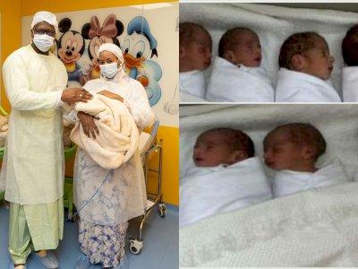 Ibu Ini Lahirkan 9 Bayi Kembar, Lelah Ganti 100 Popok dan Sediakan 6 Liter Susu Sehari