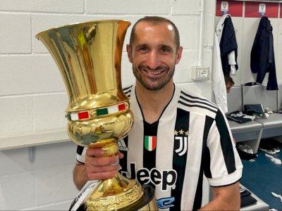Chiellini Teken Perpanjangan Kontrak dengan Juventus