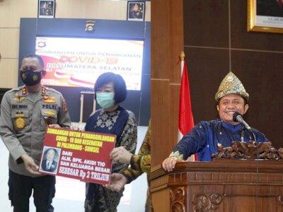 Gubernur Sumsel Minta Anak Akidi Tio Ditindak Kalau Bohong, Bikin Gaduh dan Mempermalukan