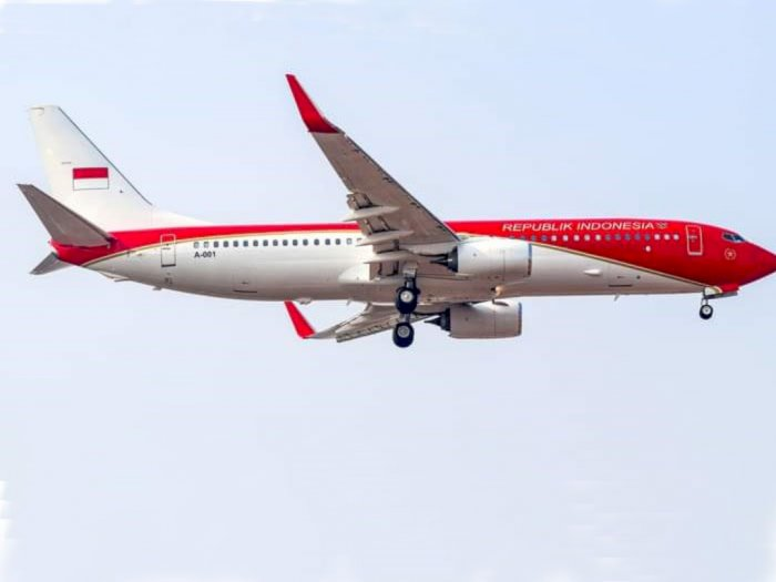 Pesawat Kepresidenan Berubah Warna Jadi Merah-Putih, Ini Penjelasan Istana