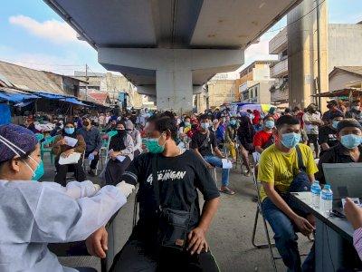 30 Persen yang Divaksin Bukan Warga Jakarta, Wagub Minta RT/RW Bertindak