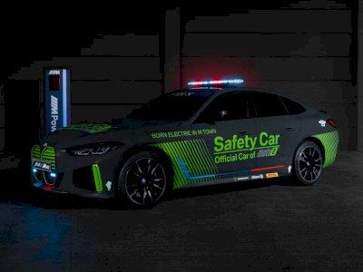 i4 M50 Bakal Jadi Safety Car Bertenaga Listrik Pertama dari BMW, Dipakai di MotoE