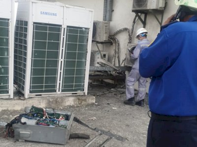 Imbas Kebakaran Kantor LRT di Jakarta Utara, 9 Orang Jadi Korban