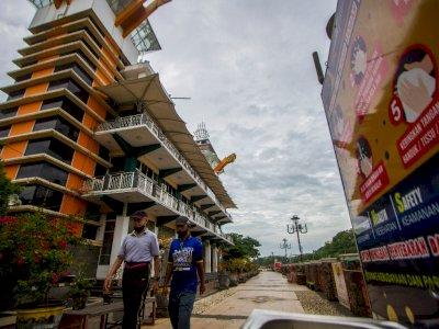 FOTO: Perpanjangan PPKM di Banjarmasin