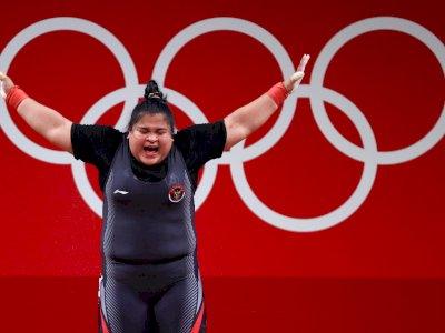 Nurul Akmal Banjir Pujian Meski Belum Berhasil Dapat Medali di Olimpiade Tokyo