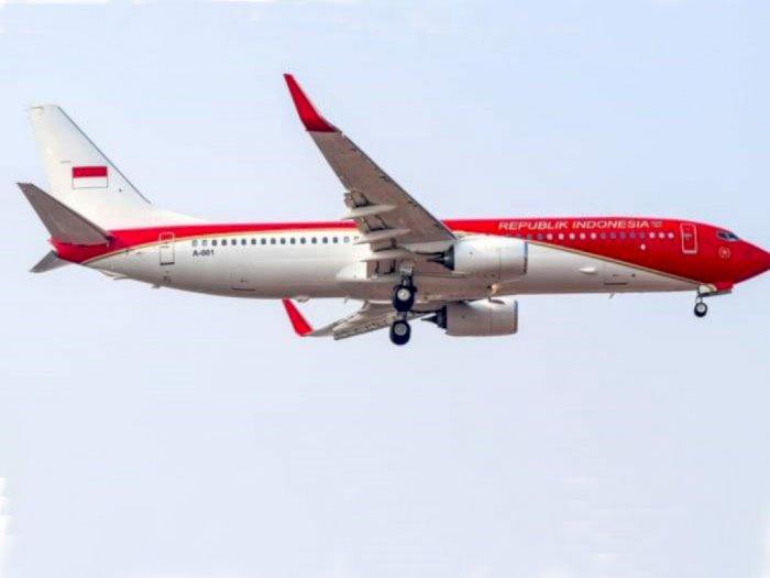 Pergantian Warna Pesawat Kepresidenan dari Biru Menjadi Merah Diminta Tak Dipolitisir
