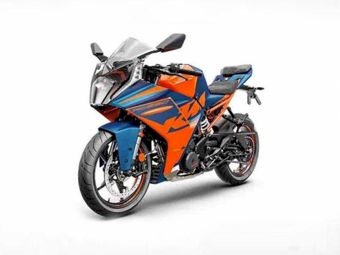 Belum Dirilis Resmi, Penampakan KTM RC390 dengan Model Baru Sudah Beredar!