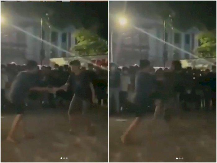 Viral Tarung Bebas Ilegal di Makassar ala ' Street Fighter', Polisi Turun Tangan