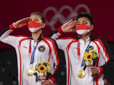 Raih Emas di Olimpiade Tokyo, BWF Pastikan Greysia/Apriyani Lolos ke WTF 2021 Bali