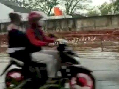 Breaking News: Banjir Setinggi 10-20 Cm Terpantau di Cilandak, Jakarta Selatan