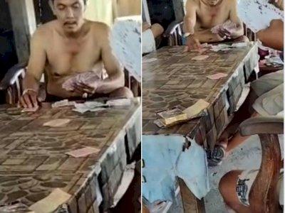 Viral Pak Kades di Mukomuko Terciduk Main Judi Tak Pakai Baju, Lagaknya Seperti Master