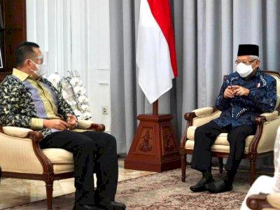 Ketua MPR Temui Wapres Ma'ruf Amin, Bahas Apa?