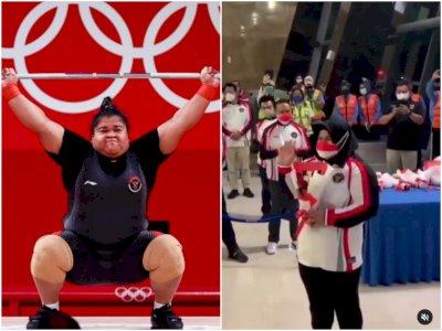 Viral Pria Hina Fisik Atlet Angkat Besi Nurul Akmal: Yang Paling Kurus