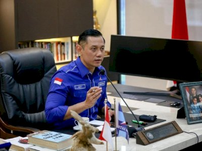Baliho AHY Dikritik Pendiri PAN, Demokrat: Salah Alamat, Itu untuk Lawan Moeldoko!