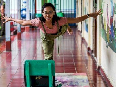 FOTO: Kelas Yoga Daring