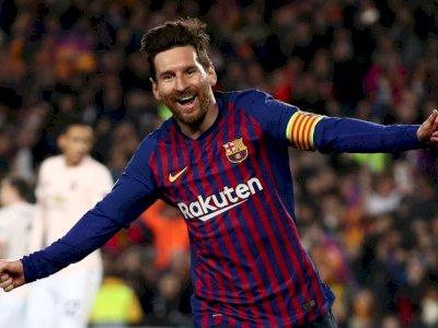 Tinggalkan Barcelona, Inilah Deretan Rekor Bersejarah Lionel Messi