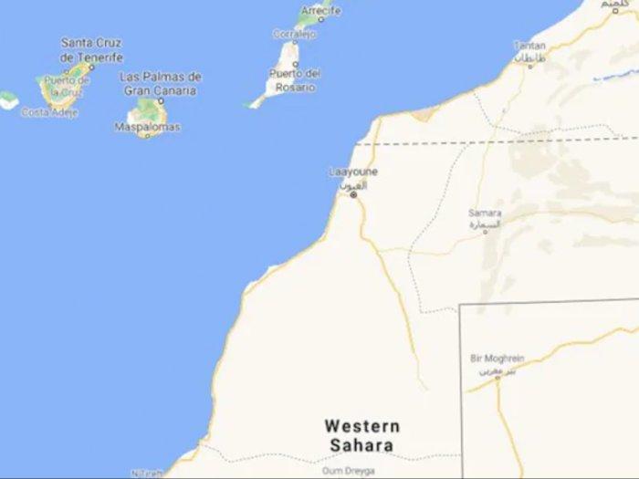 Kapal Terbalik di Sahara Barat Sekitar 40 Migran Dikhawatirkan Tewas