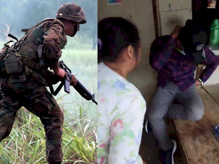 Lama Tak Pulang, Anggota TNI Nyamar Jadi Pembeli di Warung Keluarga, Ayah & Ibu Tak Sadar