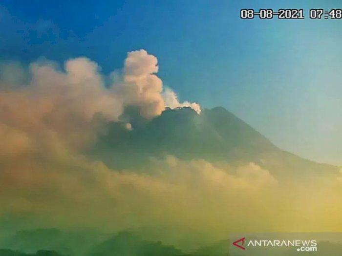 Gunung Merapi Siaga, Hujan Abu Tipis Guyur Wilayah Lereng