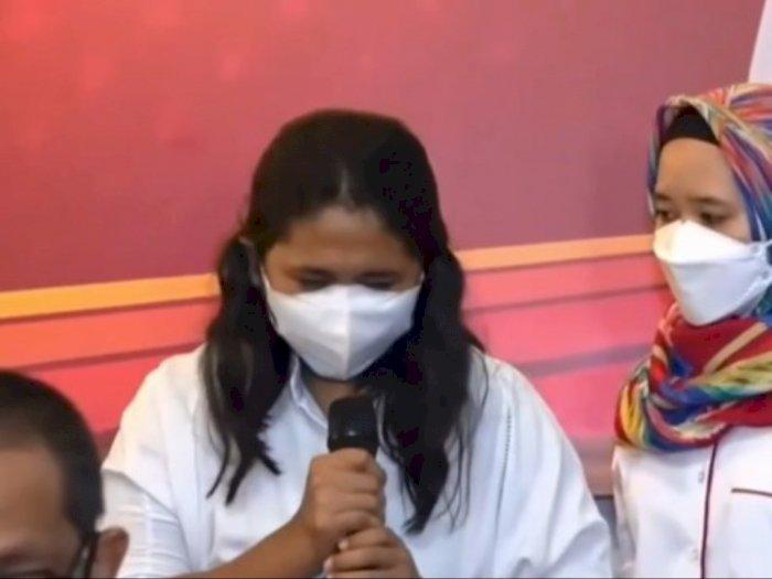 Berurai Air Mata, Ini Motif Perawat EO Tersangka Vaksin Kosong Saat Vaksinasi di Pluit