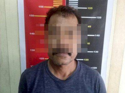 Pria Ini Ancam Penggal Warga di Pontianak Utara Pakai Parang, Tak Senang Warga Berdagang