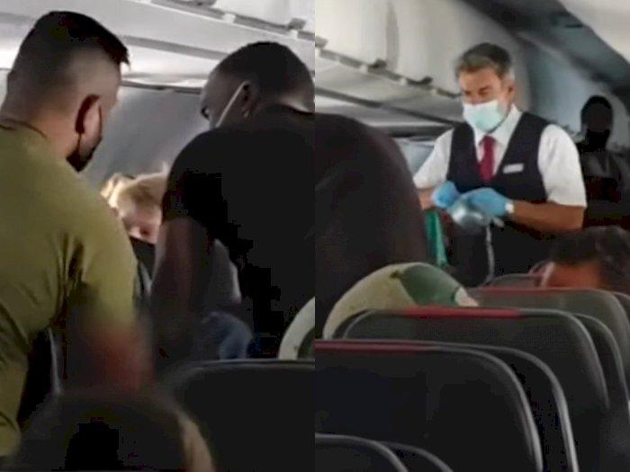 Ngamuk di Pesawat, Remaja yang Nakal Diikat Pakai Lakban Usai Berkelahi dengan Ibunya