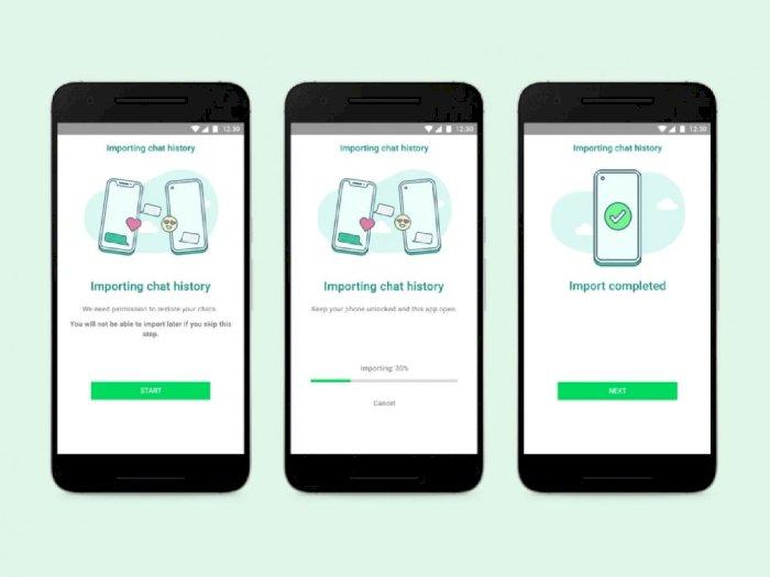 WhatsApp Kini Bisa Transfer Data Chat Antara Perangkat Android dan Juga iOS!